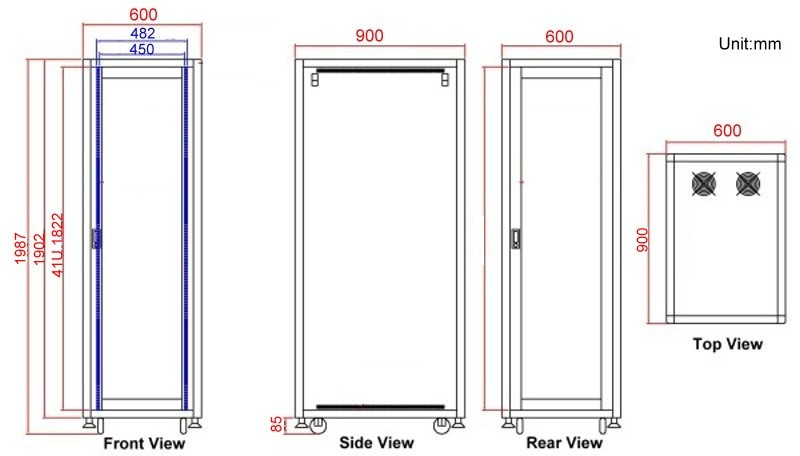 Racks And Enclosures For Networks